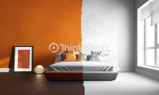 3 D Blanc Interor Dorangechambre à Coucher Photo | Thinkstock