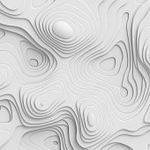 3d render, abstract paper background, flat layers, relief topographic map