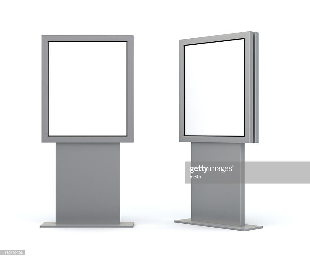 3 d'échange de publicité numérique affichage : Photo