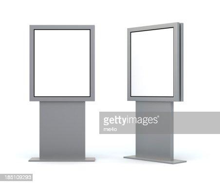 3d Trade Advertising digital poster