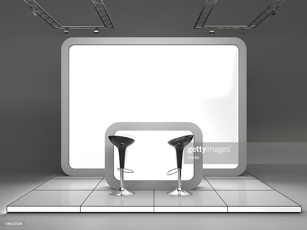 3d Trade Advertising Stand