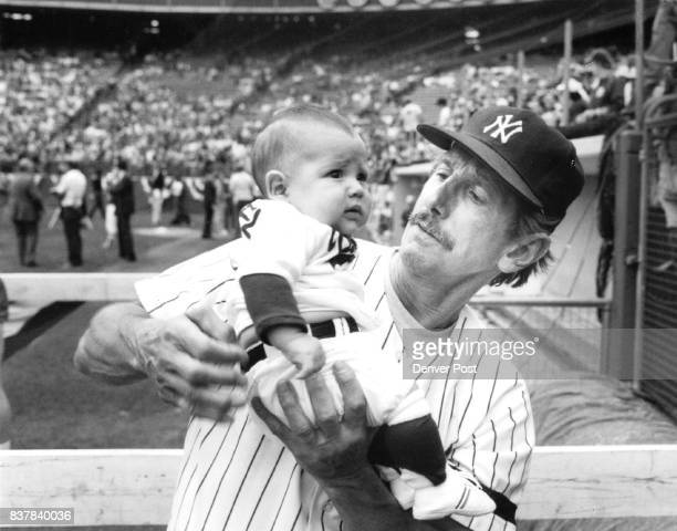 JUL 12 1984 JUL 14 1984 3month 18 Cody Joseph Rangel isn't too Pleased to meet Billy Martin ***** 'You're gonna wreck my image' Credit The Denver Post