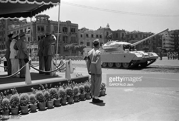 3Rd Anniversary Of The Proclamation Of The Republic Of Egypt Egypte le Caire 21 juin 1956 A l'occasion du 3ème anniversaire de la proclamation de la...