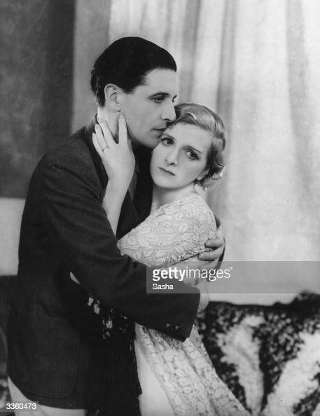 English actress Gladys Cooper and her Welsh costar Ivor Novello performing in 'Flies In The Sun' at the Playhouse Theatre London