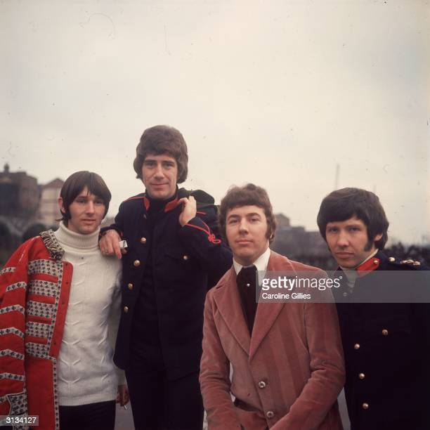 British pop group the Tremeloes comprising of Rick West Alan Blakely Dave Munden and Len 'Chip' Hawkes