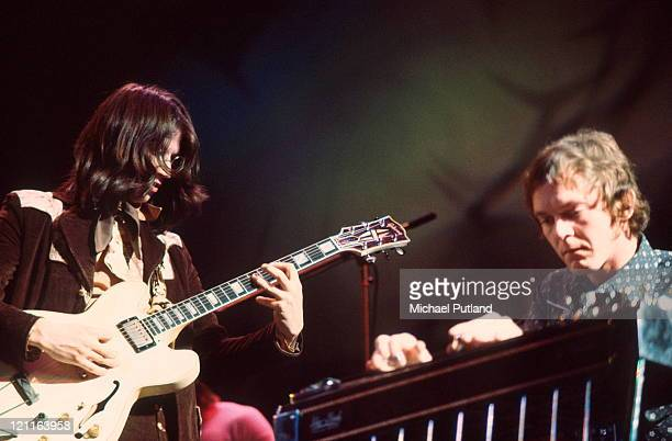 Poco perform on stage at the Rainbow Theatre London 3rd February 1972 Richie Furay Rusty Young