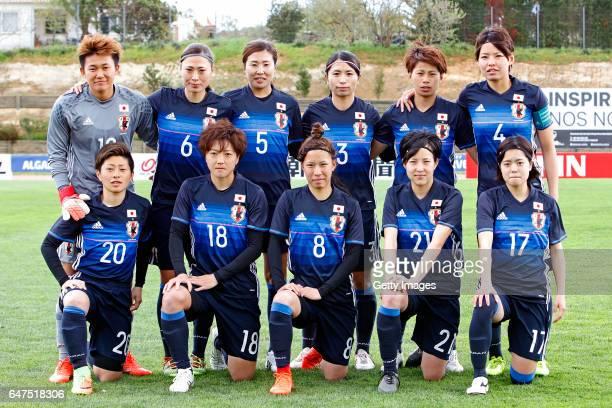 Initial team of Japan Women Ayaka Yamashita Rumi Utsugi Yuri Kawamura Aya Sameshima Mina Tanaka Saki Kumagai Kumi Yokoyama Kaede Nakamura Sonoko...