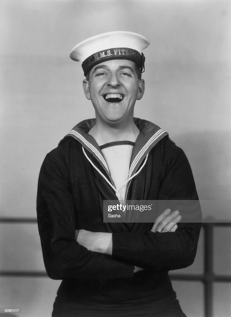 Stanley Holloway (1890 - 1982), the English entertainer, in 'Hit The Deck' at the London Hippodrome.