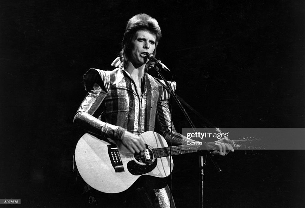 <a gi-track='captionPersonalityLinkClicked' href=/galleries/search?phrase=David+Bowie&family=editorial&specificpeople=171314 ng-click='$event.stopPropagation()'>David Bowie</a> performs his final concert as <a gi-track='captionPersonalityLinkClicked' href=/galleries/search?phrase=Ziggy+Stardust+-+Persona&family=editorial&specificpeople=15327884 ng-click='$event.stopPropagation()'>Ziggy Stardust</a> at the Hammersmith Odeon, London. The concert later became known as the Retirement Gig.