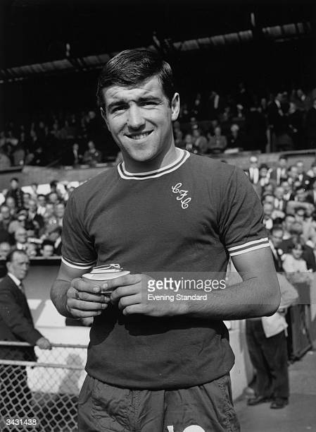Chelsea footballer Terry Venables who went on to manage the England team