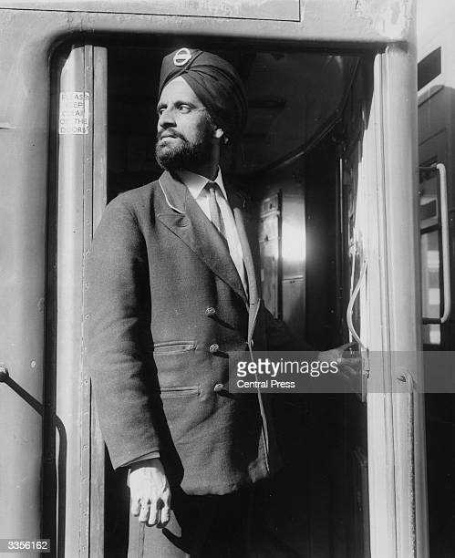 Amar Singh a sikh who works for London Underground has been allowed to pin his badge to a turban after a protest against having to wear the standard...