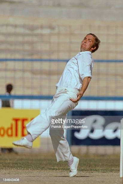 3rd Test Pakistan v England at Karachi Geoff Cope Pakistan v England 3rd Test Karachi Jan 197778