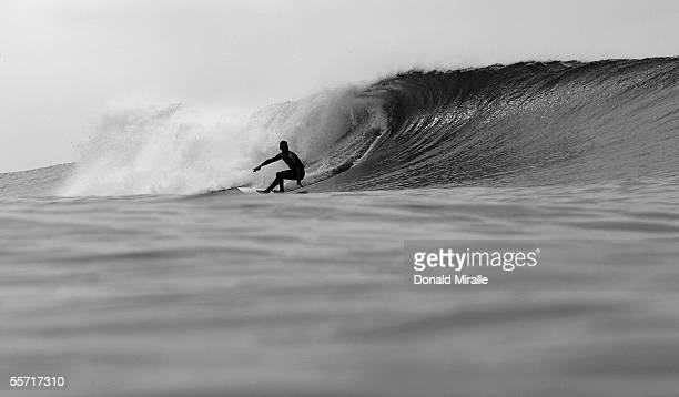 Time reigning World Champion Andy Irons of Hawaii takes a bottom turn on a wave en route to his 4th Round win over Richard Lovett during the Boost...