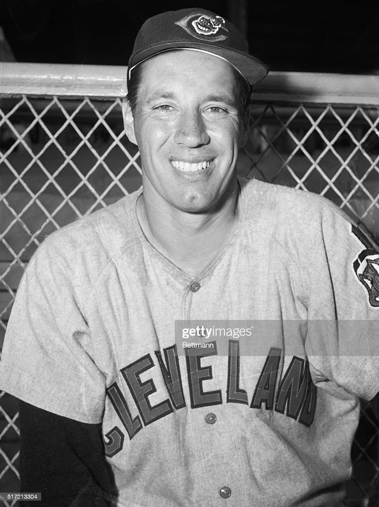 Ace Cleveland Indian fastballer Bob Feller, now a baseball-wise veteran of 37,getting ready for his 20th season of big league play,can look back over the years with pride over his fabulous picthing accomplishments.'Rapid Robert' burst upon the scene as a sensational 17-year-old rookie in 1936,to go onto a 20-year career interrupted by military service in 1942-45.So far he has 266 pitching triumphs and has a chance to reach the magic circle of 300 pitching wins.