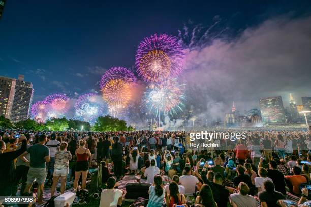 41st Annual Macy's 4th Of July Fireworks display on July 4 2017 in New York City