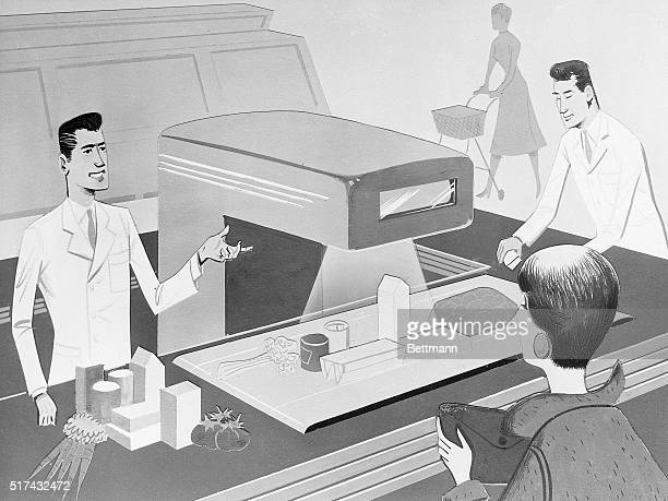 4/26/1955Washington DC An advance look at the world of tomorrow which American industry expects to help create is contained in 'People Products and...
