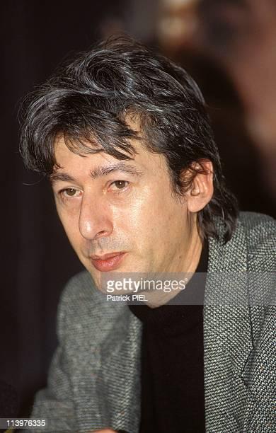 42th Berlin Film Festival In Berlin Germany In January 1992Alain Bashung