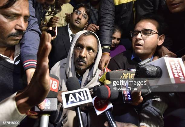 42yearold Ashok Kumar the bus conductor first arrested for the murder of Pradhyumn Thakur talks to media after the release from Bhondsi jail He will...