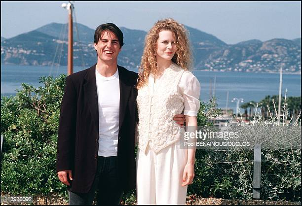 45th Cannes Film festival in Cannes France on May 17 1992Tom Cruise and Nicole Kidman