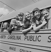 4/8/1949Its fun to go to schoolif you can all ride safe and sound in a nice big bus