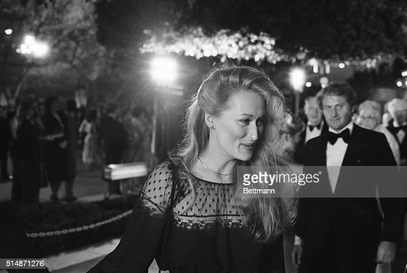 4/9/1979Hollywood CA Actress Meryl Streep arrives at the Music Center for the Academy Award presentations