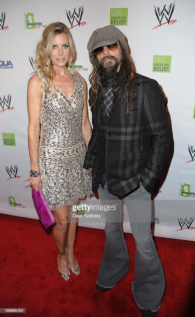 <a gi-track='captionPersonalityLinkClicked' href=/galleries/search?phrase=Rob+Zombie&family=editorial&specificpeople=217722 ng-click='$event.stopPropagation()'>Rob Zombie</a> attends the Superstars For Sandy Relief at Cipriani Wall Street on April 4, 2013 in New York City.