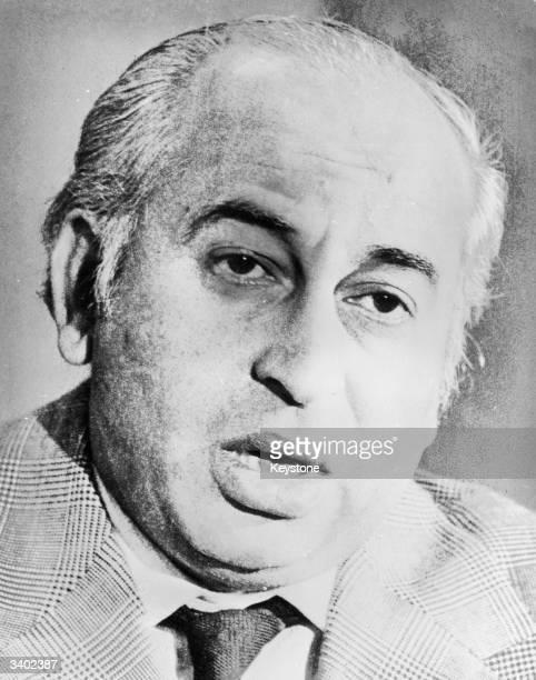 Former President and Prime minister of Pakistan Zulfikar Ali Bhutto