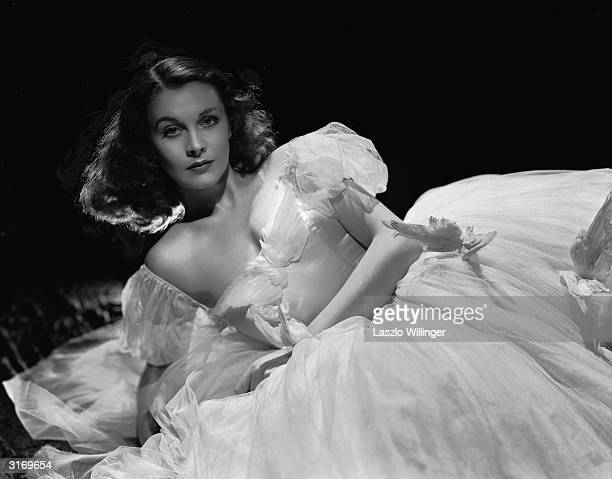 British actress Vivien Leigh in costume for her role as Myra in 'Waterloo Bridge' directed by Mervyn LeRoy