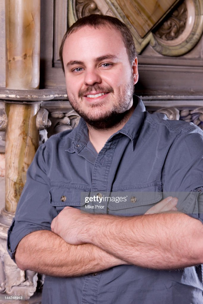 American guitarist Andy McKee posed at the Union Chapel in London on 4th February 2011.