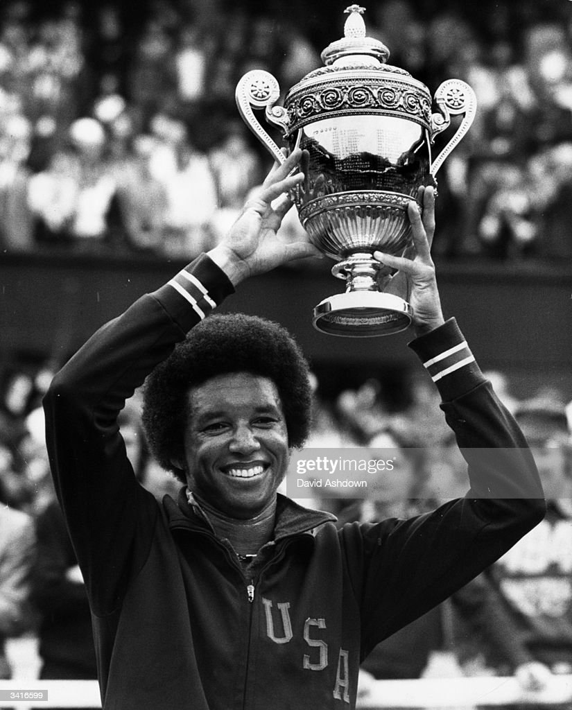 35 Years Since Arthur Ashe Won Wimbledon s and