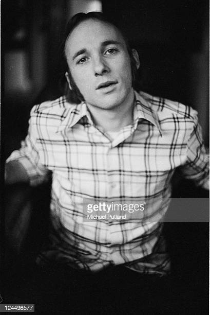Stephen Stills at home in Elstead Surrey UK on 4th March 1972