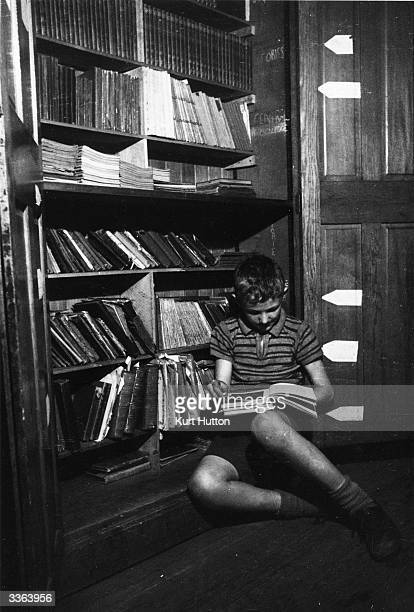 A pupil at an elementary school in industrial Lancashire in northern England Original Publication Picture Post 1791 A School The Children Won't Leave...