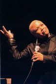 Singer Dee Dee Bridgewater performs at the BIMhuis in Amsterdam Netherlands on 4th November 1997