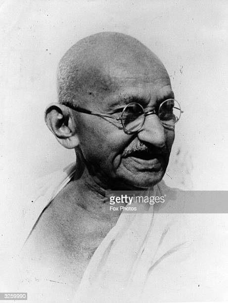 Indian leader Mahatma Gandhi