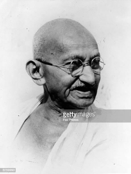 Indian leader Mahatma Gandhi