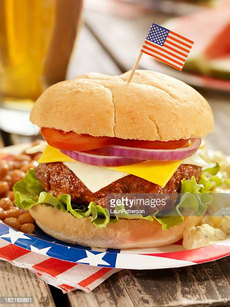 4 juillet Burger et bière