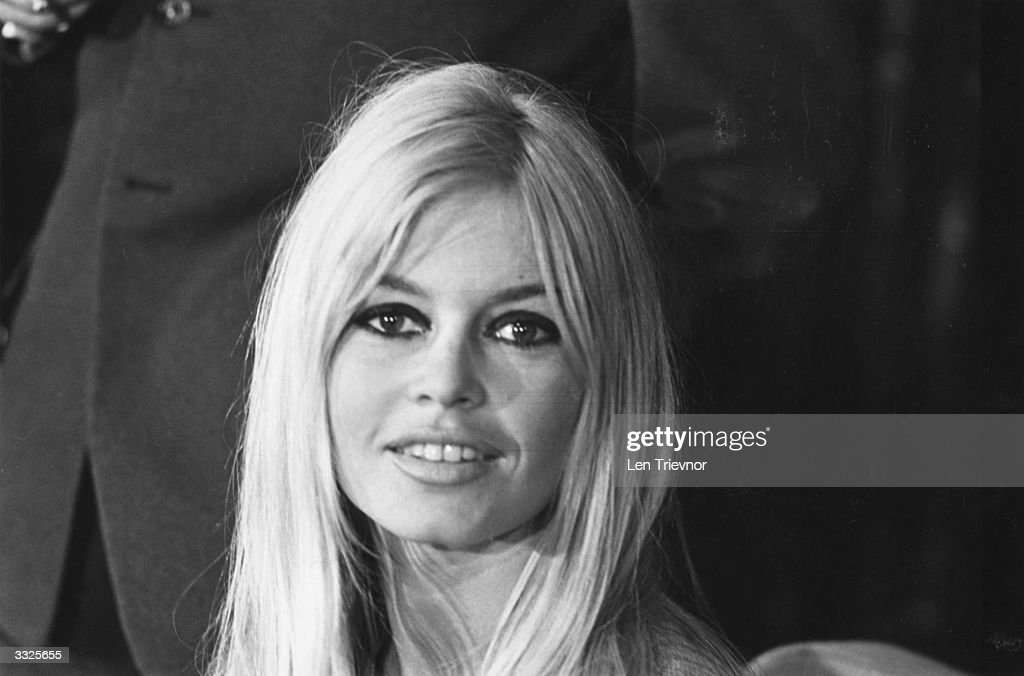 French actress <a gi-track='captionPersonalityLinkClicked' href=/galleries/search?phrase=Brigitte+Bardot&family=editorial&specificpeople=202903 ng-click='$event.stopPropagation()'>Brigitte Bardot</a> at a press conference in London.