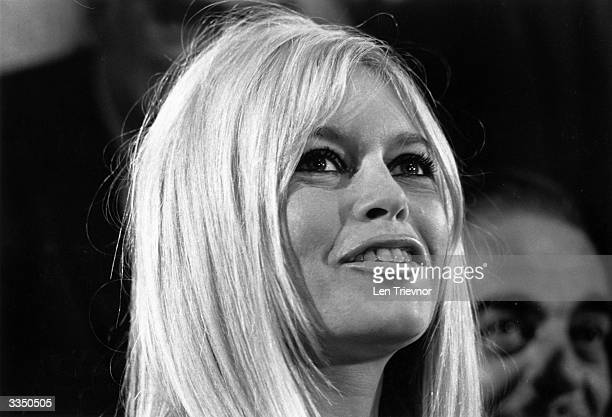 French actress Brigitte Bardot during a ceremony in London