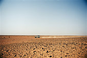 4-Wheel Drive Vehicle, Sahara Desert, Morocco