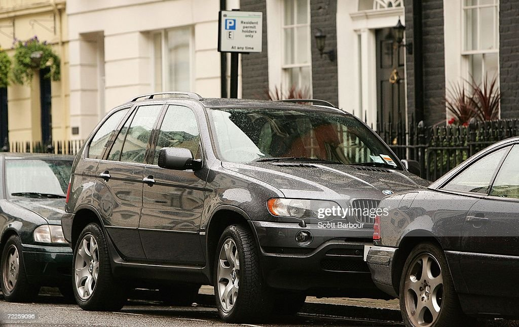 A 4x4 vehicle sits parked in a 'resident permit holders only' parking space in central London on October 25, 2006 in London, England. Gas-guzzling vehicles are being targeted by local authorities to face higher costs for being on the road in Britain. The cost of residents' parking permits could be linked to car emissions for Richmond upon Thames residents, while London's existing congestion charge could rise to 25 GBP per day in 2010 for drivers of high-emissions vehicle.