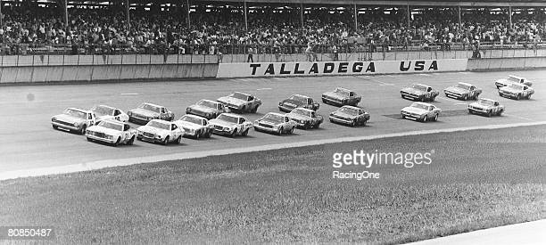 A 50car field started the 1974 Winston 500 won by David Pearson