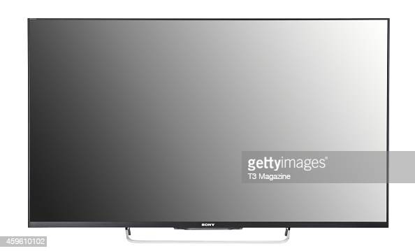 A 50inch Sony W8 flatscreen television photographed on a white background taken on March 5 2014