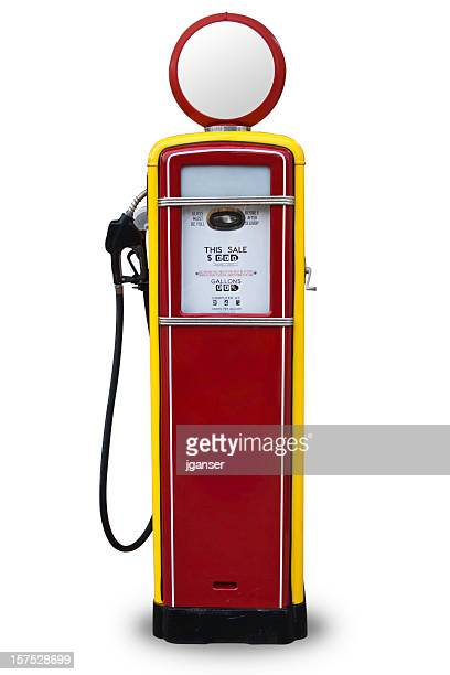 50 s Style Red Gas Pump