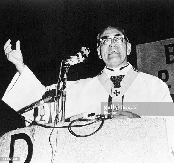 5/13/1979San Salvador Archbishop Oscar Arnulfe Romero calls on the International diplomatic community to put pressure on the government to end...