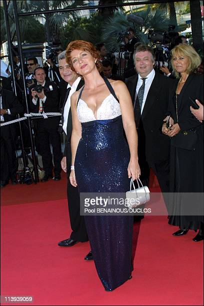 54th Cannes film festival stairs of 'Shrek' In Cannes France On May 12 2001Veronique Genest