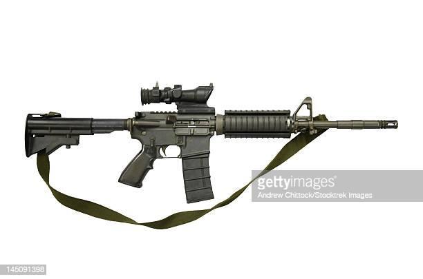 CB 5.56mm Canada, assault carbine copy of colt Commando.