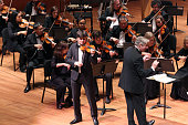 55th Young Concert Artists Series Gala Concert at Alice Tully Hall on Tuesday night May 10 2016 This image Aleksey Semenenko performing Mozart's...
