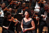 55th Young Concert Artists Series Gala Concert at Alice Tully Hall on Tuesday night May 10 2016 This image Julia Bullock performing Barber's...
