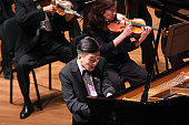 55th Young Concert Artists Series Gala Concert at Alice Tully Hall on Tuesday night May 10 2016 This image YunChin Zhou performing Prokofiev's 'Piano...