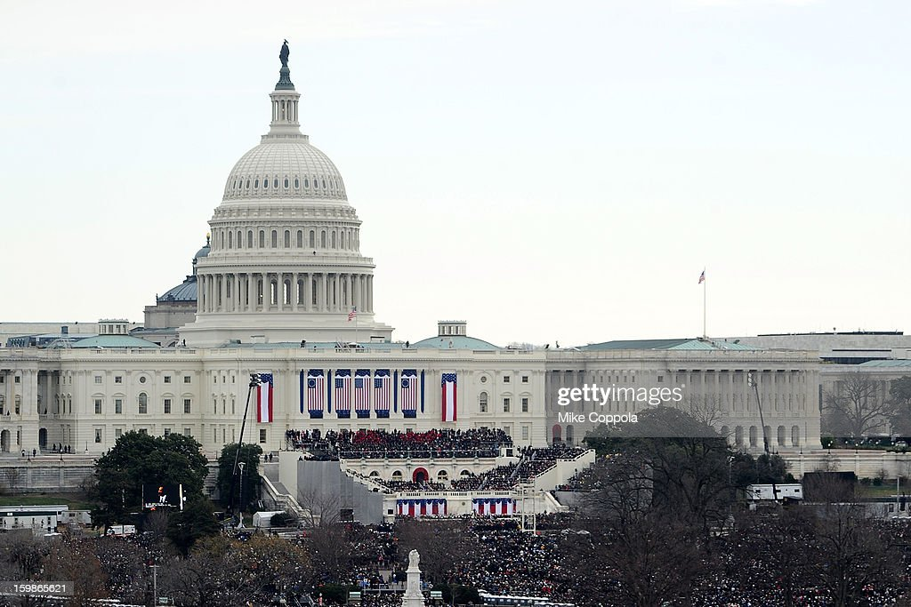 57th United States Presidential Inauguration General Atmosphere on January 21, 2013 in Washington, United States.